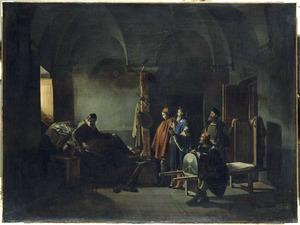De schilder Sodoma op zijn ziekbed