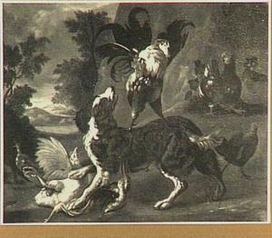 Jachthond en gevogelte