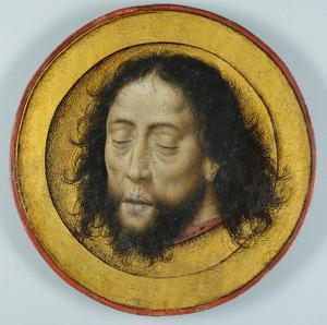 Het hoofd van Johannes de Doper op een schotel