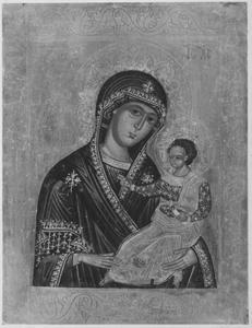 Maria met Christuskind (epitaaf van Oswald von Straubing)