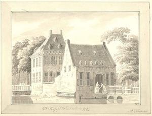 Het huis te Druten anno 1782