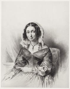 Portret van Henriette Adriana Oyens (1808-1877)