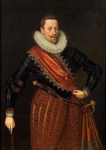 Portret van Matthias II van Habsburg (1557-1619), later keizer van het Heilige Roomse Rijk