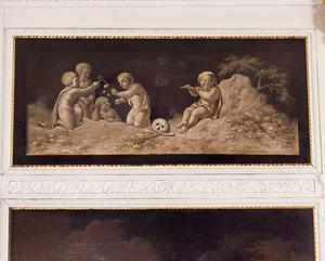 Allegorie in betrekking tot de liefde en de dood