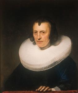 Portret van Aletta Adriaensdr