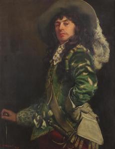 Portret van een cavalier