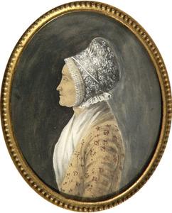Portret van Anna Sonneblom (1736-1812)