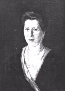 Portret van Judith Sanders (1846-1925)