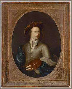 Portret van een 19-jarige schilder