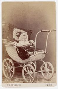 Portrait van een onbekende baby