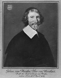 Portret van Jehan van Aerssen van Wernhout (1579-1654)