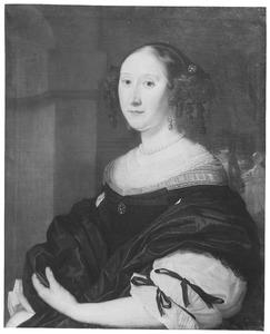 Portret van een persoon genaamd Anna Pauw