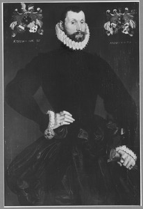 Portret van Johan Rengers van Oldenhuis tot den Post (1542-1626)