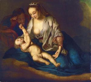 Heilige Familie met de kersentak