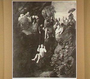 Jozef door zijn broers uit de put getrokken om hem aan de Medianieten te verkopen (Genesis 37:28-35)