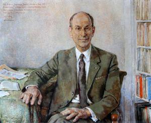 Portret van dr. Ernst Frederik Jacobi (1908-1994)