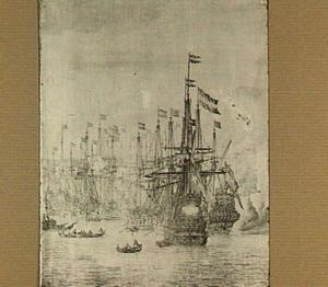 Slag in de baai van Bergen, 12 augustus 1665