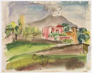 Vesuv von Bellavista aus (authentiek)