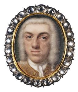 Portret van Hendrik Nicolaas Sautijn (1708-1765)
