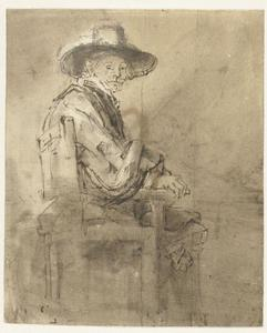 Portret van Jacob van Loon (ca. 1595-1674), een waardijn van het lakenbereidersgilde