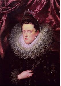 Portret van Eleonora de' Medici (1567-1611), echtgenote van Vincenzo I Gonzaga, Hertog van Mantua