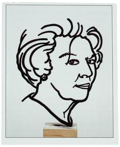 Portret van Beatrix Wilhelmina Armgard van Oranje- Nassau (1938- )