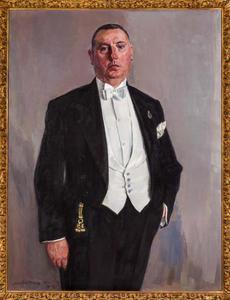 Portret van de heer H.A. Heijmeijer van Heemstede (1892-1966)