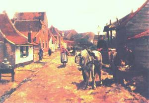 Leggerstraat in Katwijk aan Zee