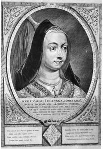 Portret van Maria van Bourgondie (1457-1481)