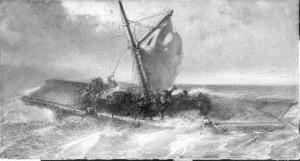 De dood van Willem Hendrik Friso op het Hollandsch Diep in 1711