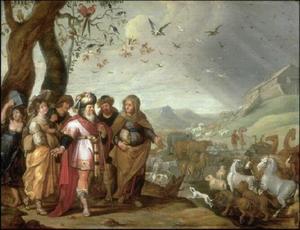 Intocht in de ark van Noach (Gen. 6-8)