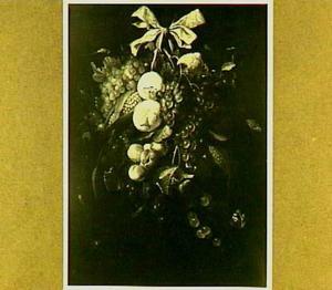 Vruchtenstilleven aan een lint