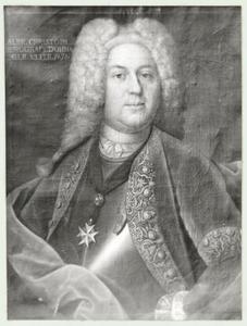 Portret van Albrecht Christoph zu Dohna -Schlobitten (1698-1752)