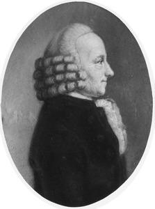 Portret van Jan Schuller (1728-1805)