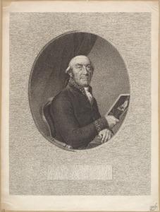 Portret van Cornelis Hendrik à Roy (1750-1833)