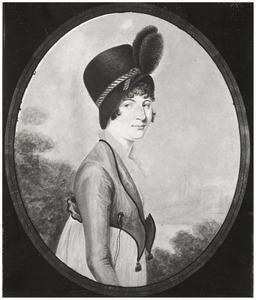 Portret van Louise Charlotte Ritter (1779-1859)