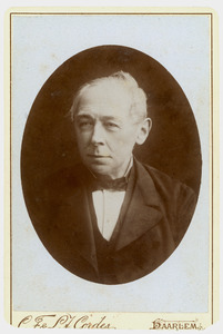 Portret van Gerard Frederik van Tets (1815-1888)