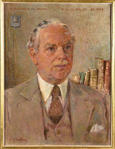 Portret van Willem Adriaan Storm de Grave (1911- )