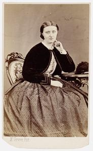 Portret van Catharina Elisabeth Sweerts de Landas (1841-1910)