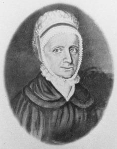Portret van Johanna Adamina Wossum ( -1849)