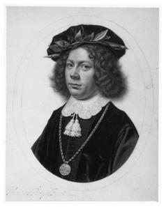 Portret van een jongeman, afgestudeerd in Utrecht