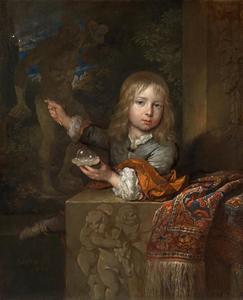 Portret van Nicolaes Arckenbout (1672-1717)