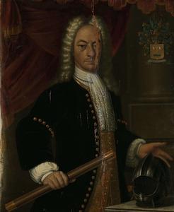 Portret van Diederik van Durven (1676-1740)