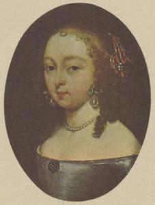 Portret van een jonge vrouw uit de familie Van Moerkerken