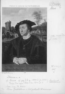 Portret van Jan II van Wassenaer, burggraaf van Leiden