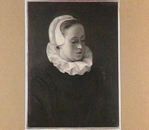Portret van Anna Roemersdochter Visscher (1583-1651)