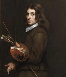 Zelfportret van Thomas Willeboirts Bosschaert (?-1654)