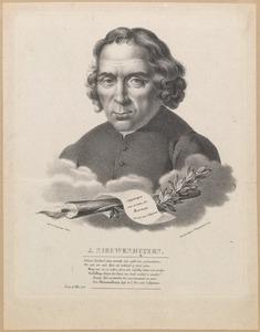 Portret van Jan Nieuwenhuyzen (1724-1806)