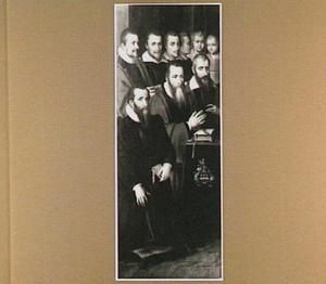 Claude Bretagne, conseiller au Parlement de Bourgogne, en zijn zonen, schoonzonen en kleinzonen