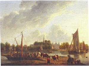 Het Kralingseveer tegenover IJsselmonde